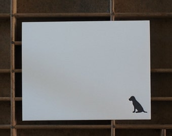 Letterpress Dog Note Cards - Set of 6