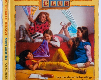 Embroidered Book Cover - The Baby-Sitters Club: Kristy's Great Idea