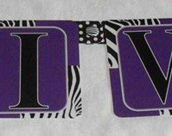 Diva Zebra Banner