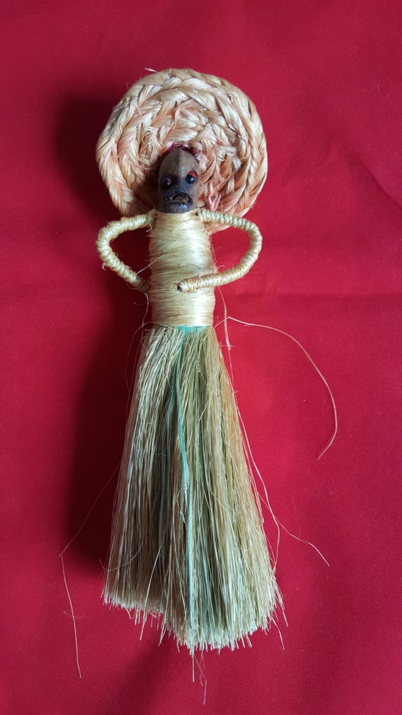 items similar to vintage handmade clothes brush doll on etsy