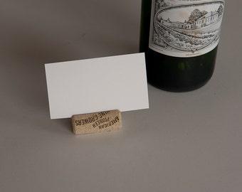 wine cork place card 50, Wine Cork Crafts, Wedding Decor, Engagement Party Decor, Table Number, Vineyard wedding