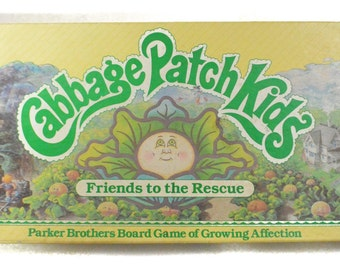 Vintage 80s Cabbage Patch Kids Board Game