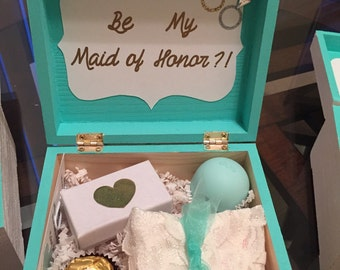 Bridesmaid / Maid of Honor Boxes (5x5x3)
