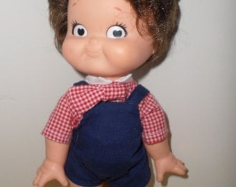 Campbell's Kids Soup Advertising Doll Boy with Bowtie CUTE