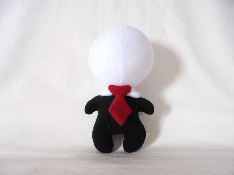 Slenderman Plushie By NerdBirdCraftings On Etsy