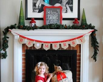 Personalized Special Delivery Burlap Santa Sack
