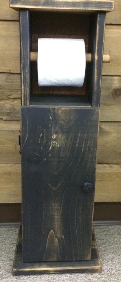 rustic toilet paper holder bathroom cabinet rustic