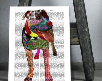 "Shop ""staffordshire bull terrier"" in Prints"