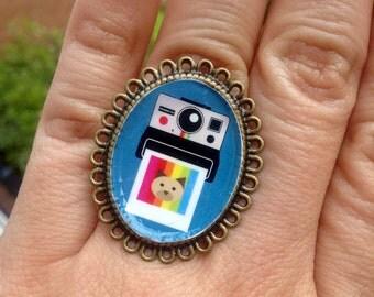 Instagram Cat. adjustable ring
