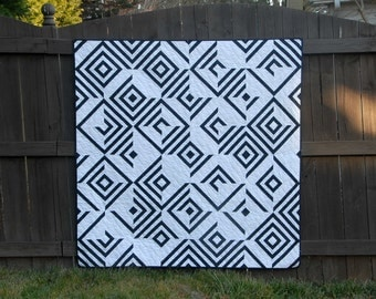 Use Your Illusion - a Printed Quilt Pattern - Paper Pieced Pattern - Wall, Baby, Lap Sizes