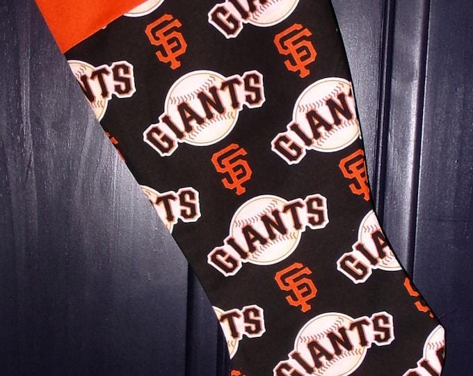 SF Giants Christmas Stocking