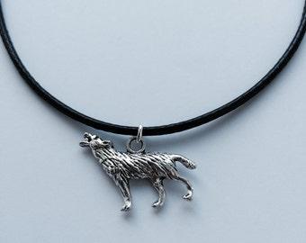 Wolf Choker Necklace