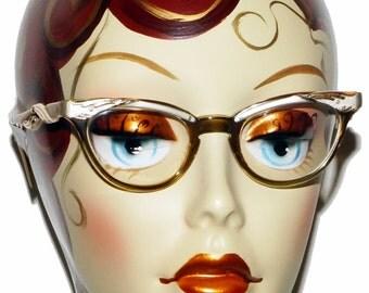 1950s Cat Eye Glasses Vintage Retro