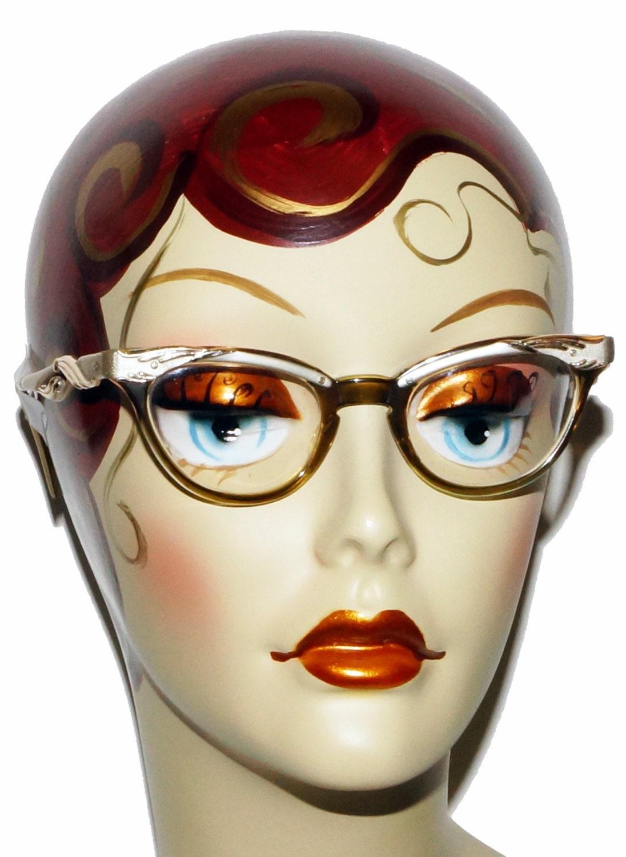 1950s Cat Eye Glasses Vintage Retro By Grandfunkevintage