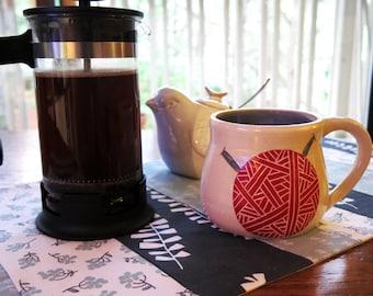 Yarn Skein Mug CUSTOM