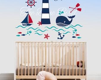 Wall Decals Nursery Etsy - Baby nursery wall decals