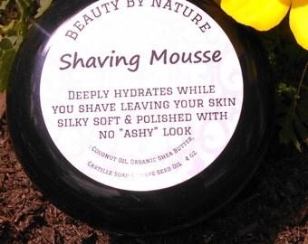 Shaving mousse