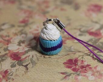 Polymer Clay Cupcake Phone Charm