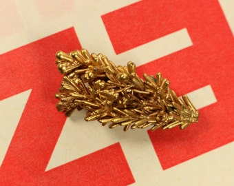 Vintage Golden Branch Brooch