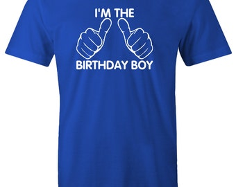 Birthday boy shirt - I'm The birthday boy t-shirt for kids toddler shirt birthday boy shirt outfit gift