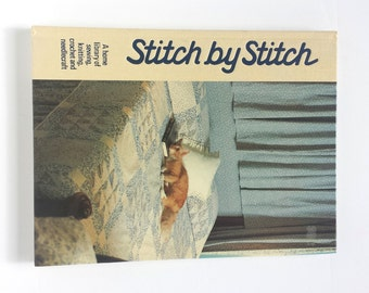 Stitch by Stitch, Home Library, Volume 19, Sewing Patterns, Knitting Patterns, Crochet Patterns