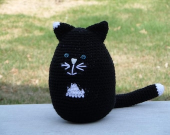 Patches the Black Cat Crochet Pattern - PDF Instant Download