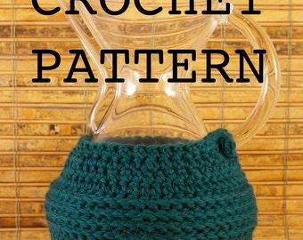 Crochet Pattern - Chemex Cozy