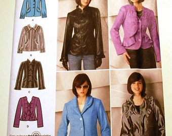 Simplicity 2313 - Misses Jacket Pattern - Size 6, 8, 10, 12, and 14