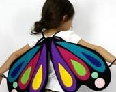The Butterfly - Rainbow - Handmade Children's Costume