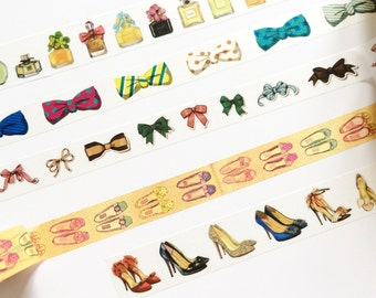 High Heels & Perfume Washi Tape