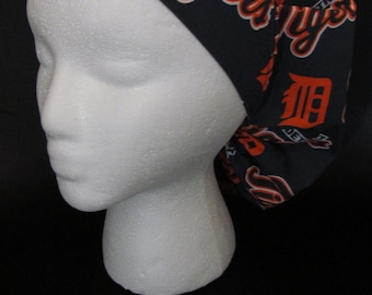 Detroit Tigers MLB Bouffant Surgical Scrub Hat