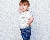 Macaroni baby and kid shirt. 100% organic cotton (GOTS). 12-18m / 2T / 3T / 4T