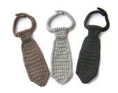 Crochet Newborn Boy Tie, Baby Boy Neck Tie, Infant Boy Neck Tie, Newborn Photo Prop, Baby Shower Gift, New Baby Gift, Newborn Necktie