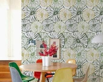Flower Removable self-adhesive vinyl Wallpaper wall sticker - wallpaper decal C056