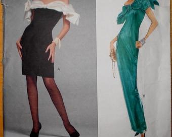 Vogue American Designer VICTOR COSTA Pattern # 2588 ~ Uncut 1990
