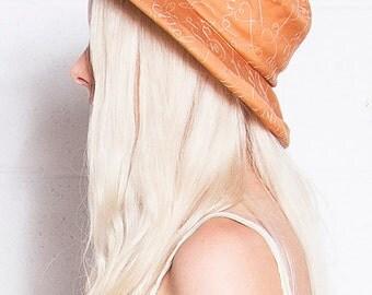 Vintage MOSCHINO Cheap & Chic LOGO Stitched Bucket Hat