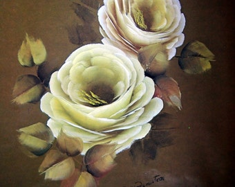 Roses From Pat By Pat Peniston Tole And Decorative Painting Booklet 1979