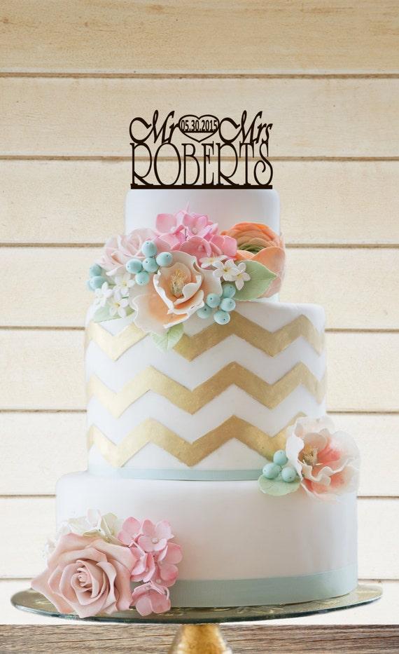 Etsy Cake Decor : Wedding Cake Topper Wedding Decor by VVDesignsShop2 on Etsy