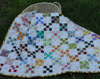 An inch at a time baby quilt pattern