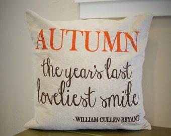 Fall Decor, Fall Pillow Cover, Autumn Pillow Cover