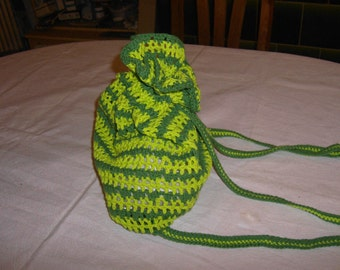 crochet summer bag / backpack