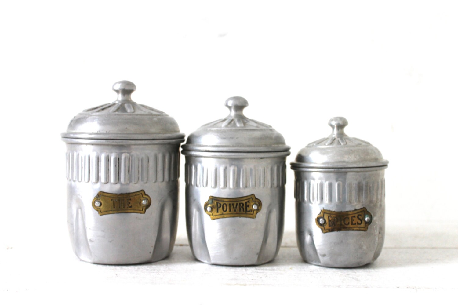 28 kitchen canisters french unique french vintage aluminum kitchen canisters french lovely french vintage art deco kitchen canister by