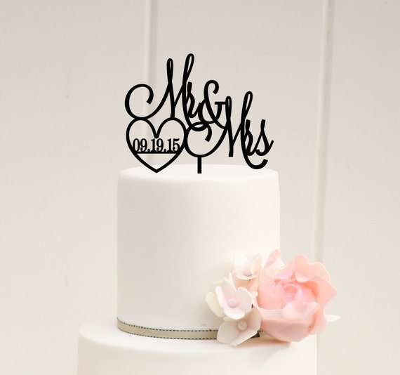 custom wedding cake toppers etsy custom wedding cake topper mr and mrs cake by 13253