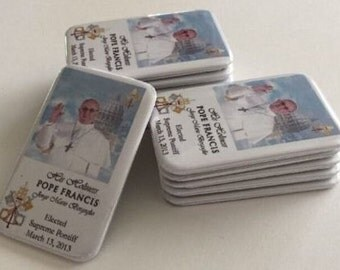 Pope Francis's Photo Magnets