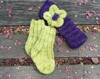 Adorable Headband w/ Matching Socks