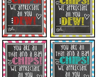 Teacher Appreciation Gift Tag Thank You For Being Such A