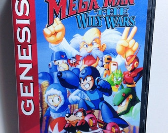 Mega Man The Wily Wars - Genesis Reproduction