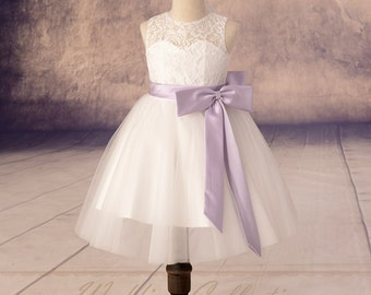 Handmade Flower Girl Dresses Designer Wedding by Weddingcollection