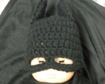 Baby Size Batman Hat with Mask