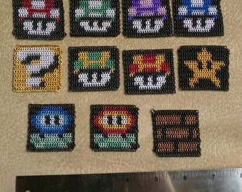Super Mario Bros Chainmaille Items